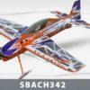 Самолет Techone SBACH 342 HCF Depron COMBO