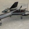 Модель самолета CYmodel SR-71 Blackbird