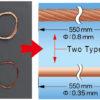 06628 проволока (скрученная, трос) (55cm Brass Wire set)