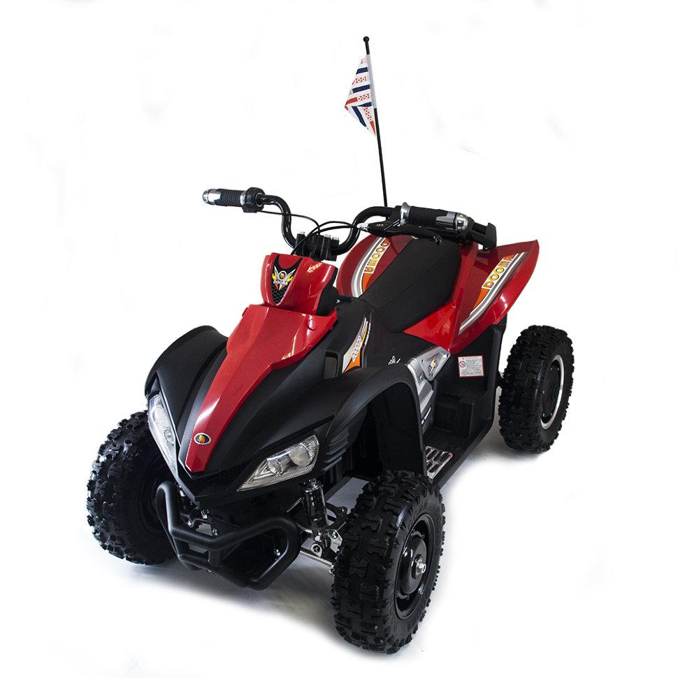 Детский спортивный электроквадроцикл Dongma ATV Red Brushless 12V — DMD-278A