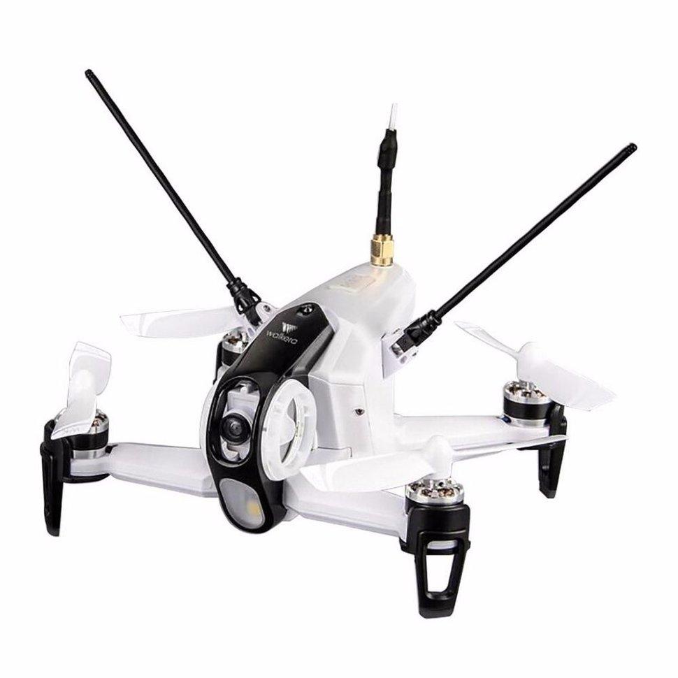 Белый гоночный квадрокоптер Walkera Rodeo 150 BNF + DEVO 7 — WAL-RODEO150-BNF-W