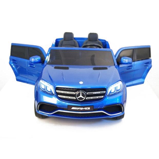 Детский электромобиль Mercedes Benz GLS63 LUXURY 4×4 12V 2.4G — Blue — HL228-LUX