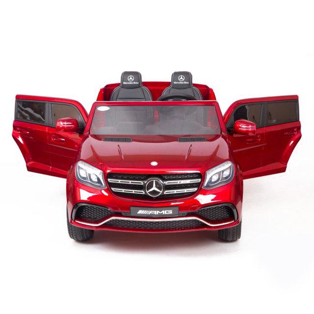Детский электромобиль Mercedes Benz GLS63 LUXURY 4×4 12V 2.4G — Red — HL228-LUX-R