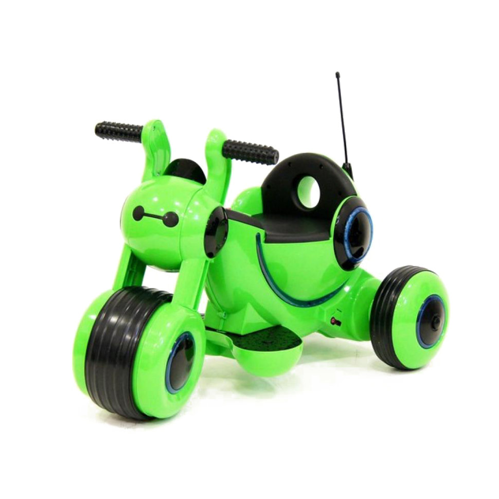Детский электромотоцикл HL300 Green 6V — HL300-G