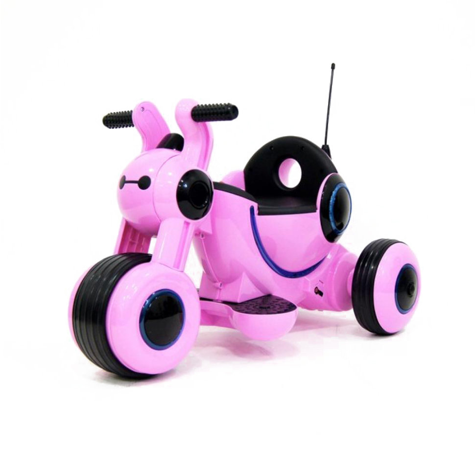 Детский электромотоцикл HL300 Pink 6V — HL300-P