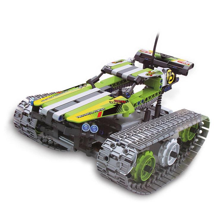 Радиоуправляемый конструктор QiHui «Stunt Car» (353 детали) — QH8015
