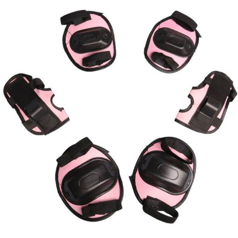 Защита роликовая OT-2011, размер S, цвет розовый