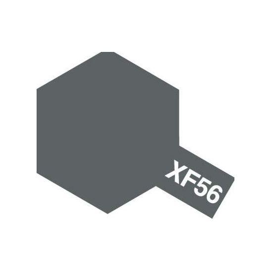 XF-56 METALLIC GREY METALLIC, ACRYLIC PAINT MINI 10 ML. (МЕТАЛЛИЧЕСКИЙ СЕРЫЙ МЕТАЛЛИК) TAMIYA