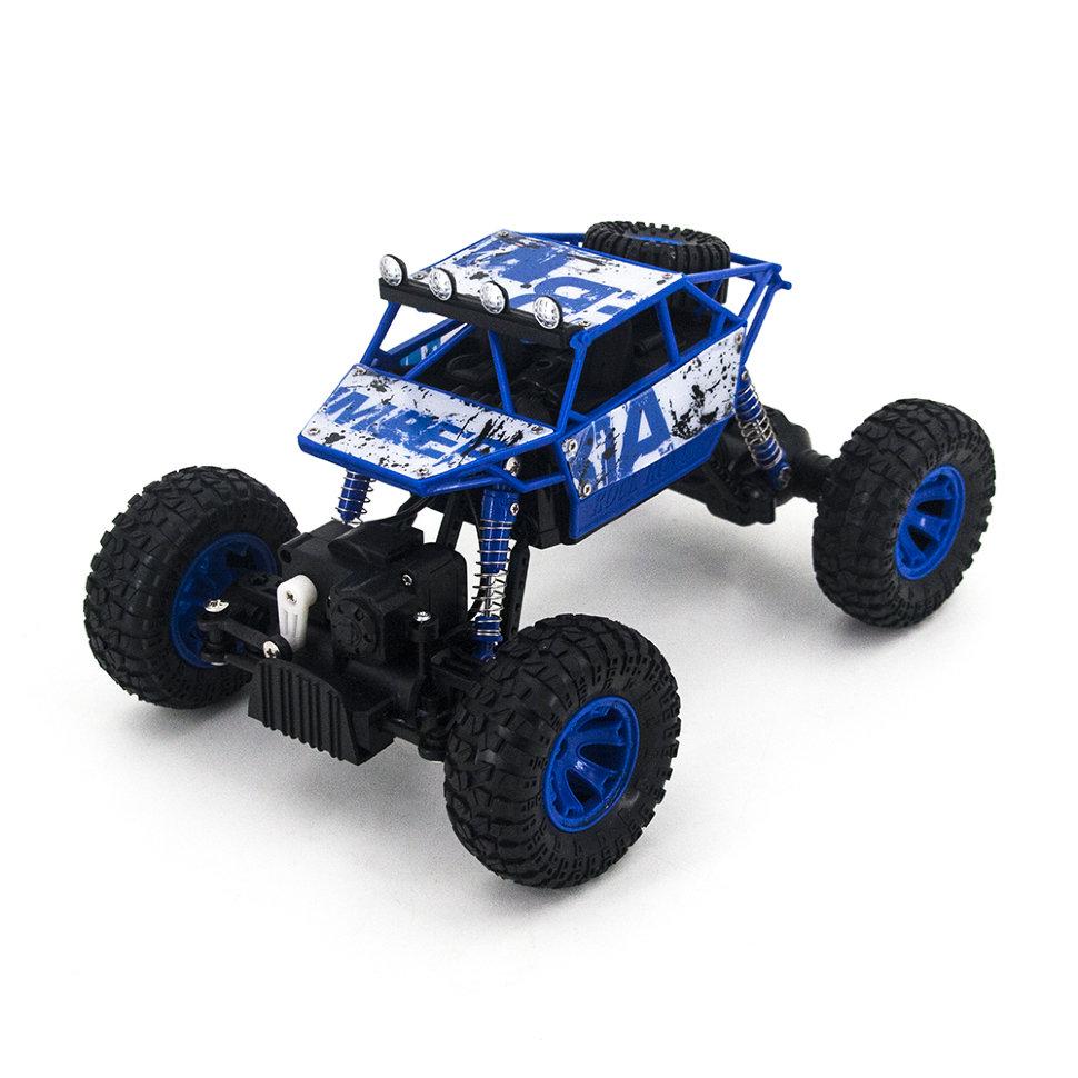 Радиоуправляемый синий краулер Zegan Rock Rover 1:18 2.4G — ZG-C1801
