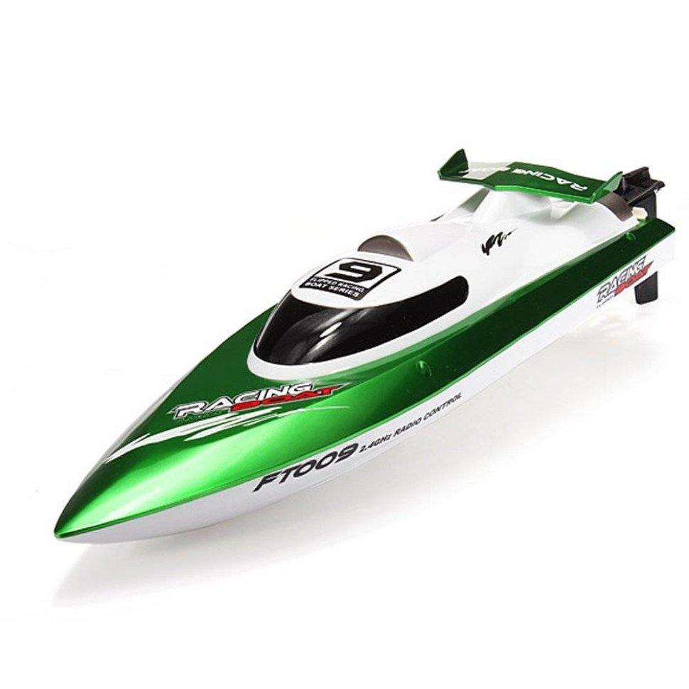 Радиоуправляемый катер Fei Lun High Speed Green Boat 2.4GHz — FT009-G