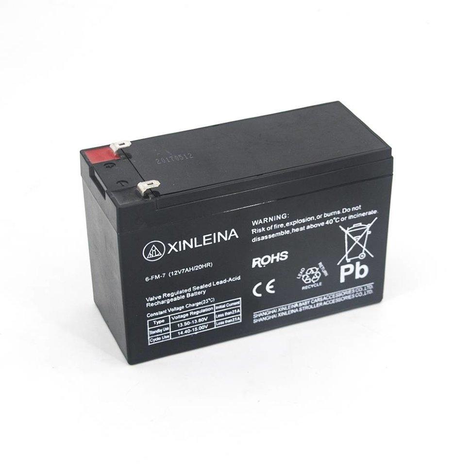 Аккумулятор XINLEINA 12V7Ah/20Hr — 6-FM-7