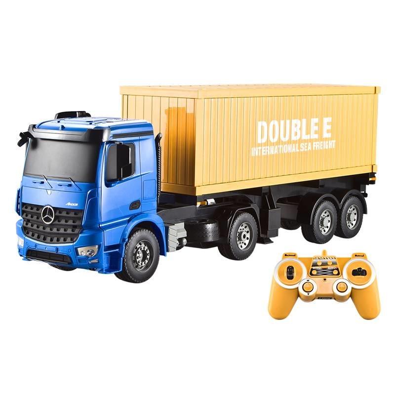 Радиоуправляемый контейнеровоз Double E Mercedes-Benz Arocs 1:20 2.4G — E564-003