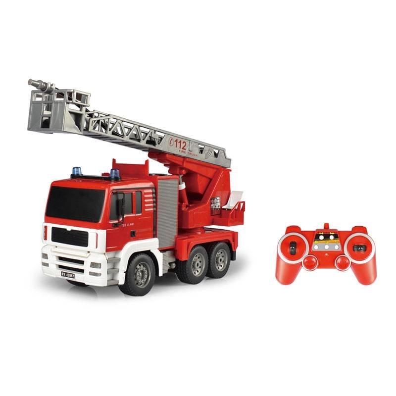 Радиоуправляемая пожарная машина Double E 1:20 2.4G — E567-003