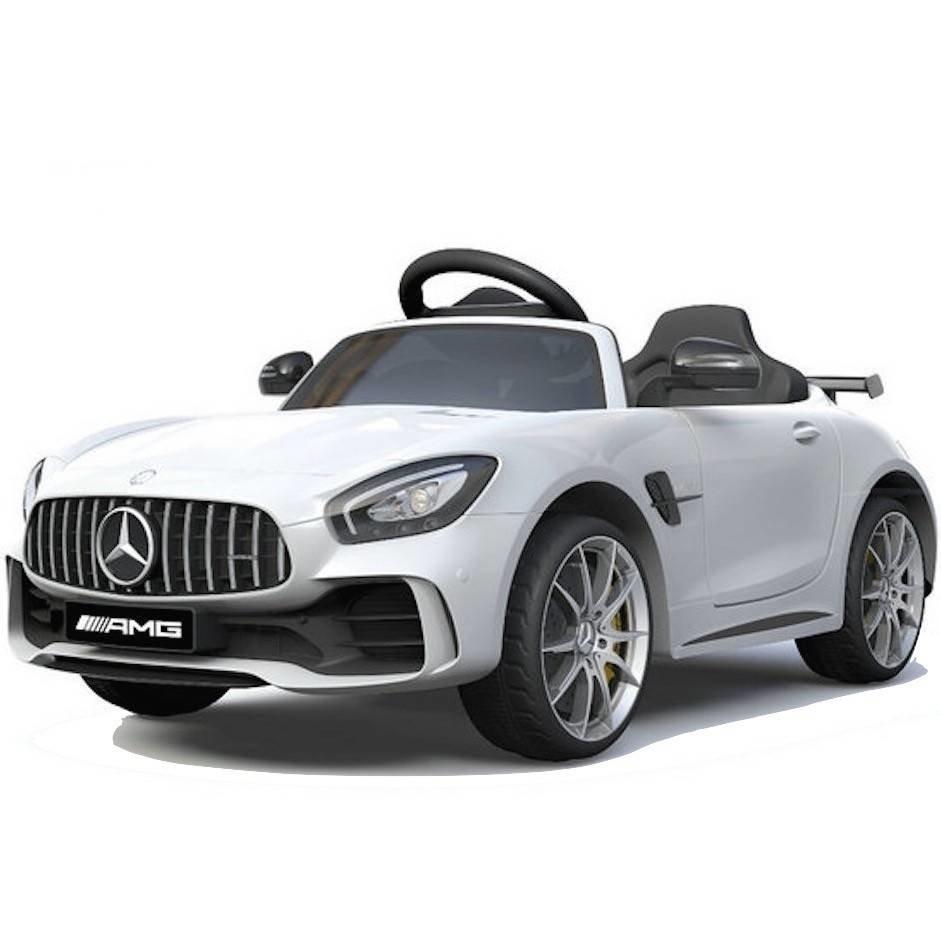 Детский электромобиль Mercedes Benz AMG GT R 2.4G — White — HL288