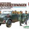 25149 Tamiya Штабная машина Steyr Type 1500A Kommanderwagen с 7 фигурами (1:35)