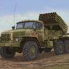 01014 реактивная установка БМ-21 «Град» поздняя (1:35)