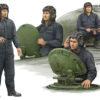 00435 солдаты Советский танковый экипаж (1:35)