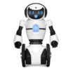 Белый робот WL toys F4 c WiFi FPV камерой, управление через APP