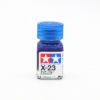 X-23 CLEAR BLUE GLOSS, ENAMEL PAINT 10 ML.(ГОЛУБОЙ ПРОЗРАЧНЫЙ ГЛЯНЦЕВЫЙ) TAMIYA
