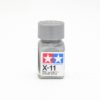 X-11 CHROME SILVER METALLIC, ENAMEL PAINT 10 ML. (ХРОМ-СЕРЕБРО, МЕТАЛЛИК) TAMIYA