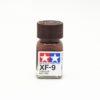 XF-9 HULL RED FLAT, ENAMEL PAINT 10 ML. (КОРПУСНОЙ КОРИЧНЕВЫЙ МАТОВЫЙ, КРАСКА ЭМАЛЬ 10) TAMIYA