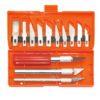 Ручной инструмент Набор ножей с цанговым зажимом. 16 предметов.
