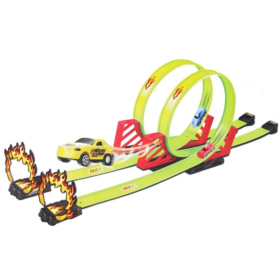 Детский пусковой трек Track Racing длина трека 550 см