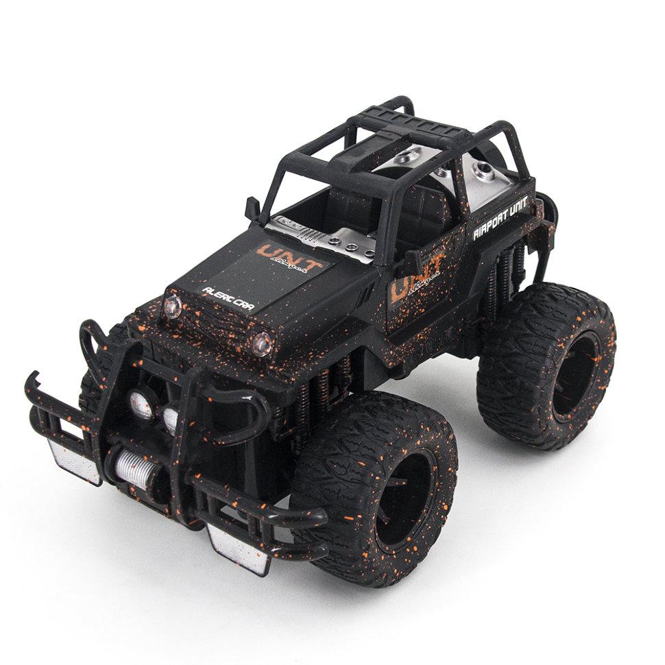Радиоуправляемый черный внедорожник YED MUD SUV 1:16