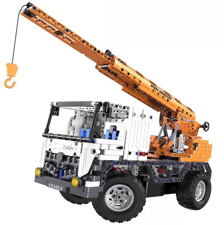 Радиоуправляемый конструктор автокран со стрелой / эвакуатор Cada Technics 2 в 1 – 2.4G