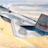 """самолет F-22 """"Раптор"""" (1:48)"""