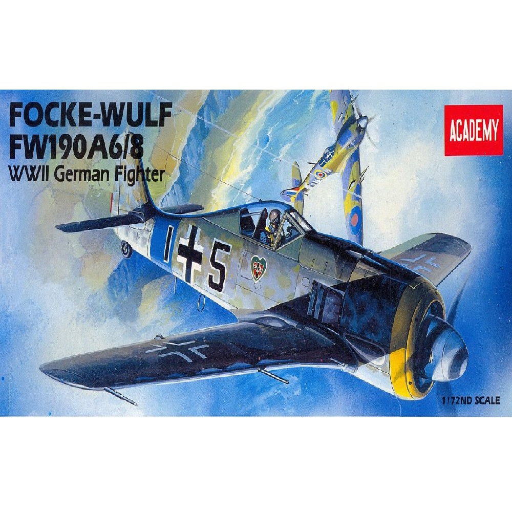 самолет FOCKE-WULF FW190A-6/8 (1:72)