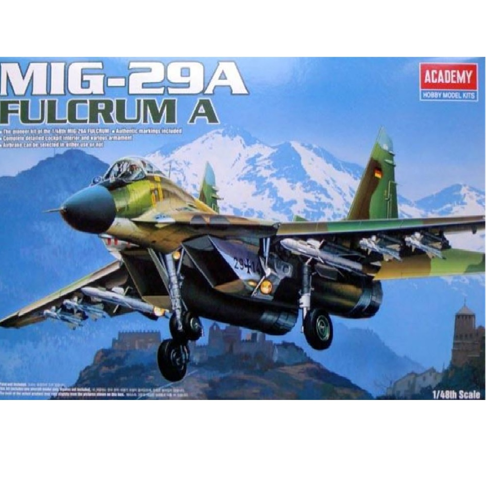 самолёт МиГ-29А (1:48)