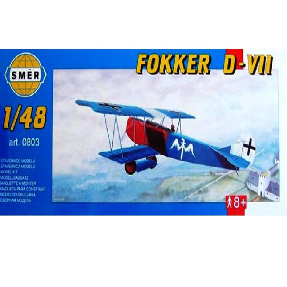 самолёт Fokker D-VII (1:48)