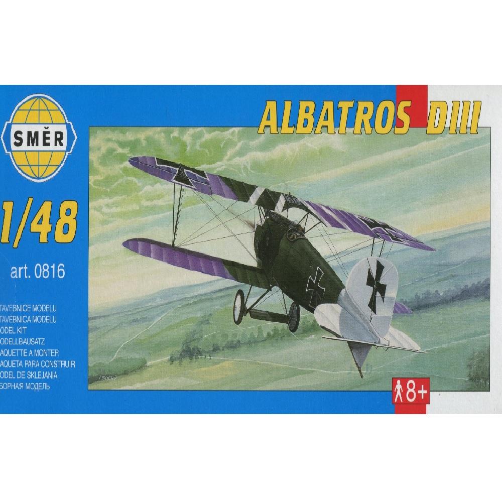 самолёт Albatros D III (1:48)