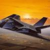 самолет F-117A NIGHTHAWK (1:72)