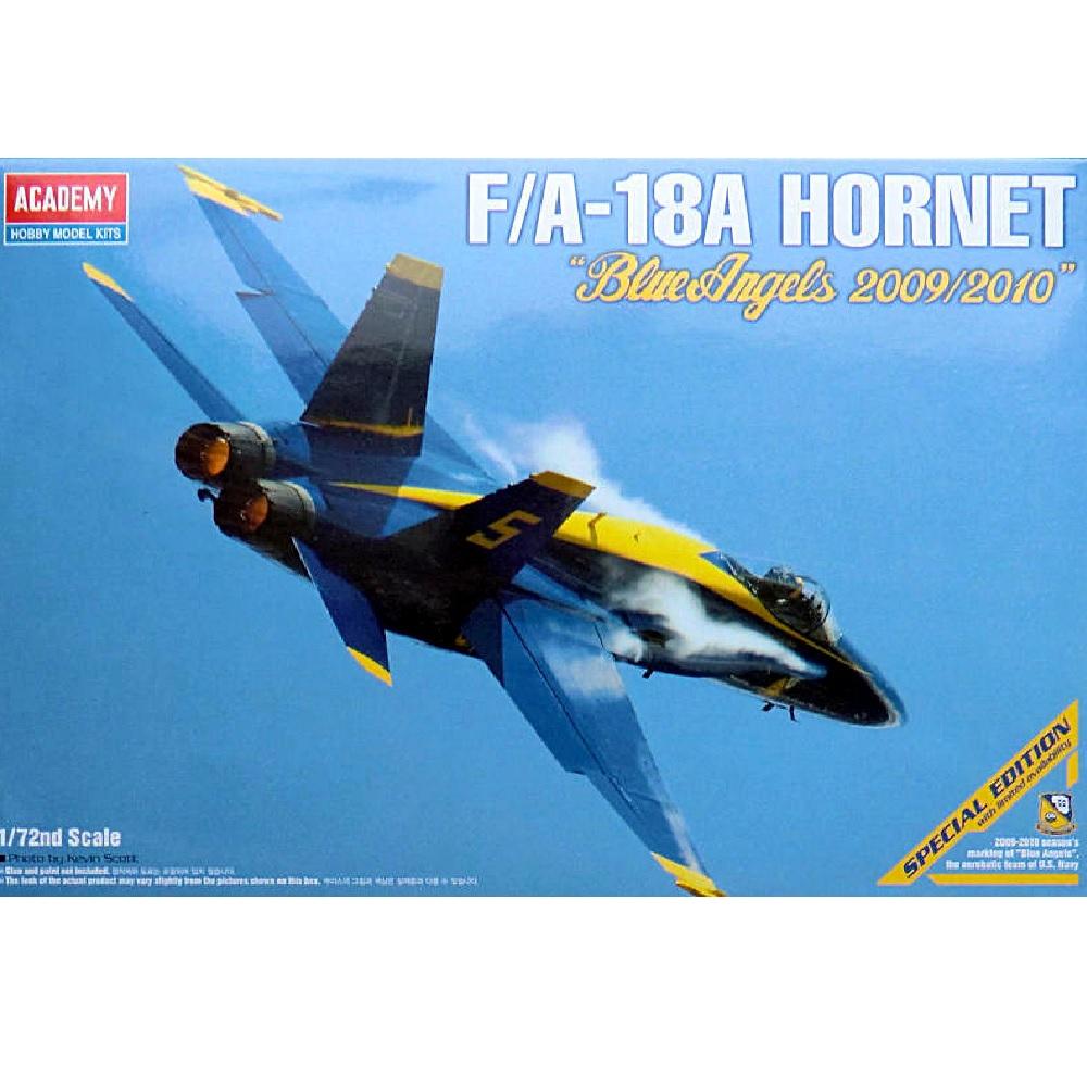 """самолет F/A-18A """"Голубые ангелы"""""""