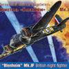 Английский ночной истребитель Бристоль «Бленхейм» Мк.IF