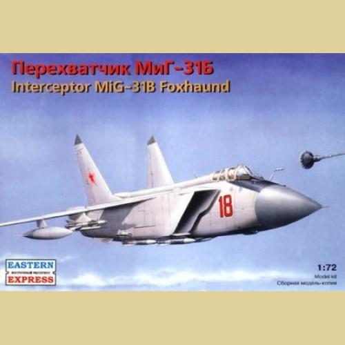 1/72 МИГ-31Б Истребитель-перехватчик
