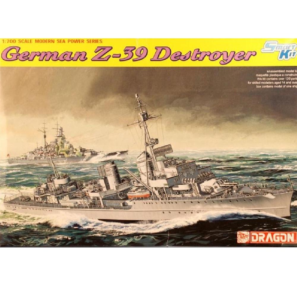 Dragon 1/700 German Z-39 Destroyer
