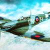 самолёт Supermarine Spitfire H.F.MK.VI (1:72)