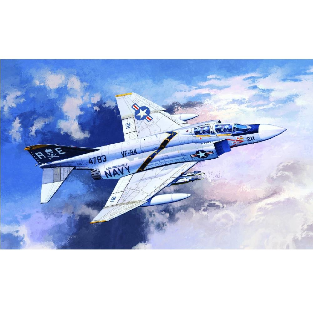 самолёт USN F-4J VF-84 Jolly Rogers (1:72)