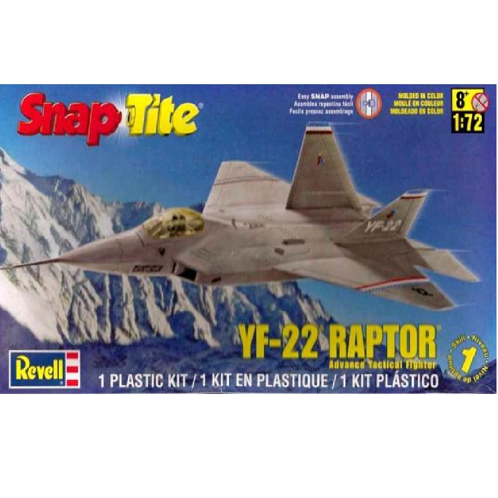 Revell YF-22 RAPTOR (Snap Tite)