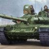 танк Т-72Б мод 1990 с литой башней (1:35)