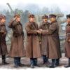 солдаты Инспекционный смотр гаубиц Б-4 (1:35)