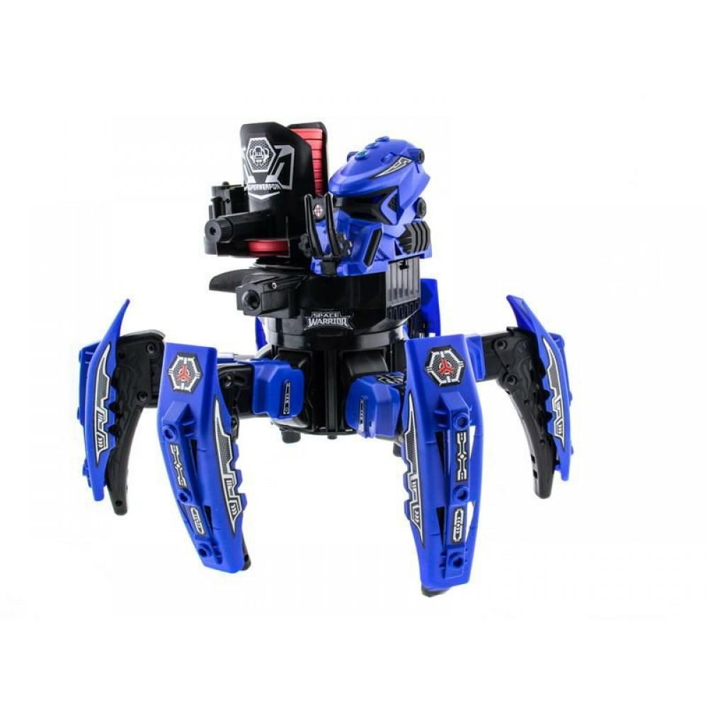 Радиоуправляемый боевой робот-паук  Toys Space Warrior