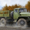 автомобиль УРАЛ-375Д (1:35)