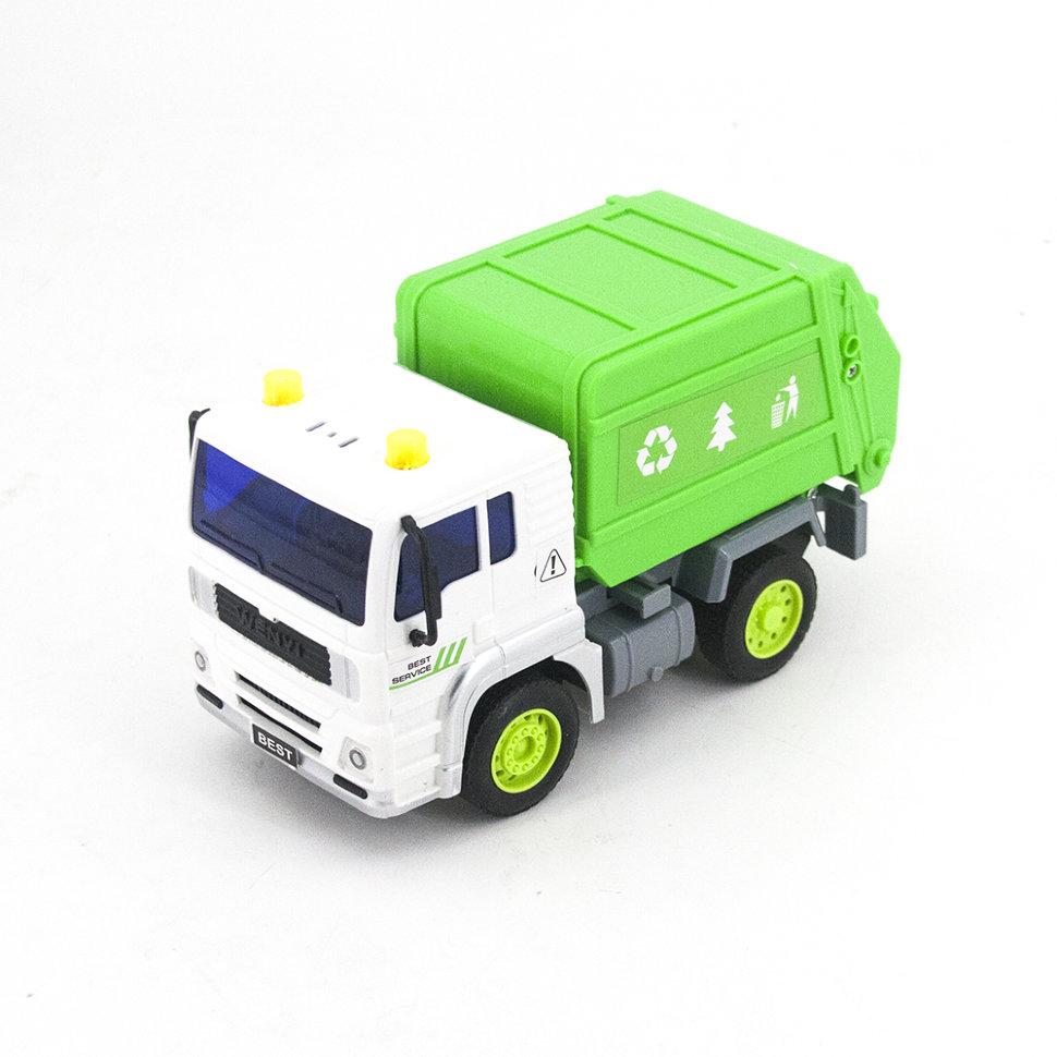 Радиоуправляемый мусоровоз 1:20