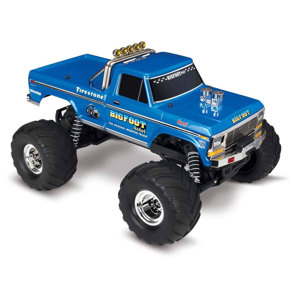 Радиоуправляемая  машина TRAXXAS BIGFOOT 1/10 2WD