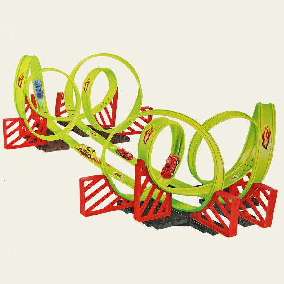 Детский пусковой трек Track Racing длина трека 700 см