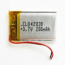 Аккумулятор 3.7V 200mAh